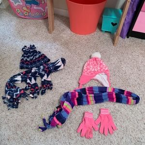 Other - Kids Hat, Scarf, and Mitten Bundle